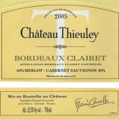 爵蕾酒庄干红葡萄酒(Chateau Thieuley Rouge,Bordeaux,France)