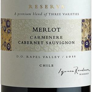 干露三重奏珍藏梅洛-佳美娜-赤霞珠干红葡萄酒(Concha y Toro Trio Reserva Merlot-Carmenere-Cabernet Sauvignon, Rapel Valley, Chile)
