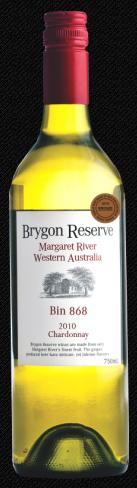 布莱恩868号桶珍藏霞多丽干白葡萄酒(Brygon Reserve Bin 868 Chardonnay,Margaret River,Australia)