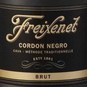 菲斯奈特黑绶带极干型起泡酒(Freixenet Cordon Negro Brut, Cava, Spain)