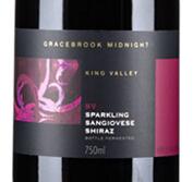 格蕾丝布鲁克午夜系列桑娇维塞-西拉起泡酒(Gracebrook Vineyards Midnight Sparkling Sangiovese Shiraz,...)