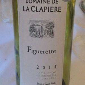 克拉比福格雷特干白葡萄酒(Domaine de la Clapiere Figuerette,Montagnac,France)