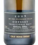 灰僧奥德赛传统起泡酒(Gray Monk Estate Winery Odyssey Traditional Brut,Okanagan ...)
