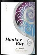 猴子湾梅洛红葡萄酒(Monkey Bay Merlot,Hawke's Bay,New Zealand)
