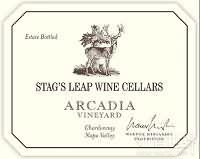鹿跃酒窖阿卡狄亚园霞多丽干白葡萄酒(Stag's Leap Wine Cellars Warren Winiarski Arcadia Vineyard Chardonnay, Napa Valley, USA)