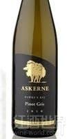 阿克尼灰皮诺半干白葡萄酒(Askerne Estate Pinot Gris,Hawke's Bay,New Zealand)