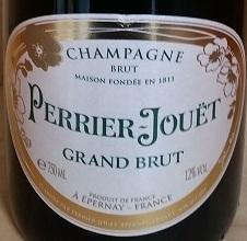 巴黎之花特级干型香槟(Champagne Perrier-Jouet Grand Brut,Champagne,France)