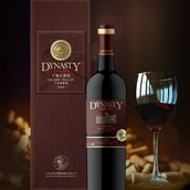 王朝大酒窖380干红葡萄酒(Dynasty Grand Cellar Oak 380 Dry Red,Ningxia,China)