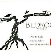 基岩酒庄露露颂桃红葡萄酒(Bedrock Wine Co.Ode to Lulu Rose of Mourvedre,Sonoma Valley,...)