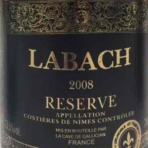 拉巴奇珍藏干红葡萄酒(Labach Reserve,Costieres de Nimes,France)