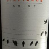 画眉酒庄上昂扬系列混酿红葡萄酒(Blackbird Vineyards Arise Red Blend, Napa Valley, USA)