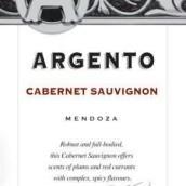 银谷赤霞珠干红葡萄酒(Argento Cabernet Sauvignon, Mendoza, Argentina)