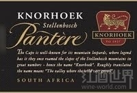 可诺混酿干红葡萄酒(Knorhoek Pantere Red,Stellenbosch,South Africa)