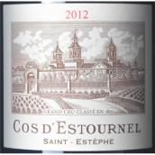 爱士图尔庄园红葡萄酒(Chateau Cos d'Estournel, Saint-Estephe, France)
