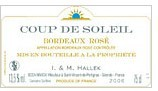 博索莱伊太阳之光桃红葡萄酒(Chateau Le Pin Beausoleil Coup de Soleil Rose,Bordeaux ...)