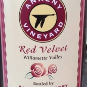 安克尼红丝绒桃红葡萄酒(Ankeny Red Velvet,Willamette Valley,USA)