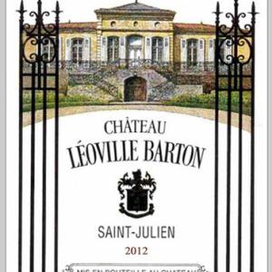 巴顿城堡红葡萄酒(Chateau Leoville Barton, Saint-Julien, France)
