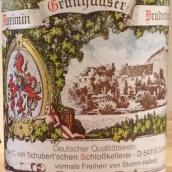 翠绿布鲁德伯格雷司令半干白葡萄酒(QBA)(C.von Schubert Maximin Grunhauser Bruderberg Riesling Qba,...)