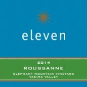 十一瑚珊白葡萄酒(Eleven Winery Roussanne,Washington,USA)