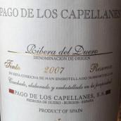 帕歌卡佩兰斯珍藏干红葡萄酒(Pago de los Capellanes Reserva,Ribera del Duero,Spain)