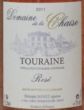 谢泽酒庄都兰桃红葡萄酒(Domaine de la Chaise Touraine Rose,Touraine,France)