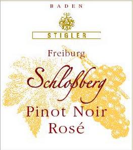 施蒂格勒城堡山黑皮诺迟摘干桃红葡萄酒(Weingut Stigler Freiburg Schlossberg Pinot Noir Rose ...)