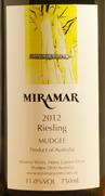 米拉玛酒庄雷司令干白葡萄酒(Miramar Wines Riesling,Mudgee,Australia)