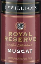 麦克威廉皇家珍藏麝香加强酒(McWilliam's Royal Reserve Muscat,South Eastern Australia,...)