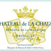 捷斯堡酒庄女侯爵珍藏干红葡萄酒(Chateau de La Chaize Brouilly Reserve de la Marquise,...)