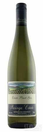 帕霖佳灰皮诺干白葡萄酒(Paringa Estate Pinot Gris,Mornington Peninsula,Australia)