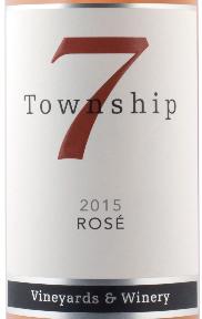 7号镇酒庄桃红葡萄酒(Township 7 Rose,Okanagan Valley,Canada)