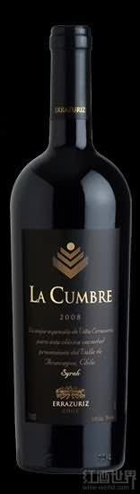 伊拉苏拉宫博西拉干红葡萄酒(Errazuriz La Cumbre Syrah, Aconcagua Valley, Chile)