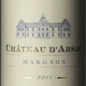 艾尔萨克城堡红葡萄酒(Chateau d'Arsac,Margaux,France)