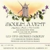 杜宝夫风磨坊橡木陈酿干红葡萄酒(Georges Duboeuf Moulin-a-Vent Oak Aged,Beaujolais,France)