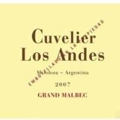 库维利大马尔贝克干红葡萄酒(Cuvelier Los Andes Grand Malbec,Uco Valley,Argentina)