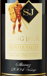 杰克王珍藏系列西拉干红葡萄酒(黑标)(King Jack Shiraz, Hunter Valley, Australia (Black Label))