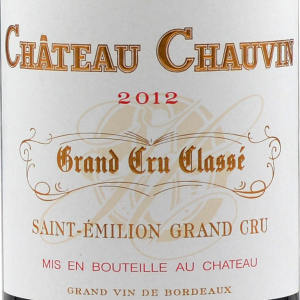 舍宛酒庄红葡萄酒(Chateau Chauvin,Saint-Emilion Grand Cru Classe,France)