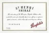 奔富圣亨利西拉干红葡萄酒(Penfolds St Henri Shiraz, South Australia, Australia)