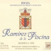 Ramirez de la Piscina Reserva,Rioja DOCa,Spain