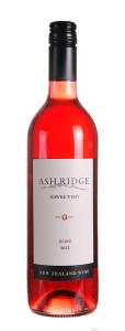 阿什利基梅洛桃红葡萄酒(Ash Ridge Merlot Rose,Hawke's Bay,New Zealand)