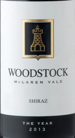 伍德索克酒庄西拉干红葡萄酒(Woodstock Shiraz,McLaren Vale,Australia)