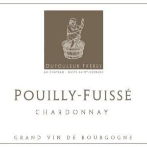 杜福尔兄弟酒庄(普伊-富赛村)干白葡萄酒(Maison Dufouleur Freres Pouilly-Fuisse, Maconnais, France)