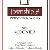 7号镇维欧尼干白葡萄酒(Township 7 Viognier,Okanagan Valley,Canada)