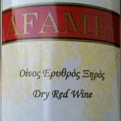 苏打酒庄阿菲姆干红葡萄酒(Sodap Afames,Commandaria,Cyprus)