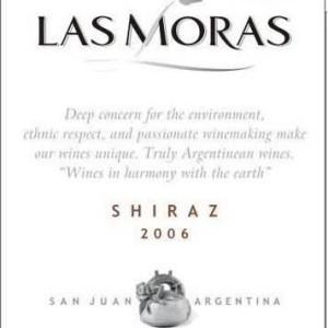 黑莓西拉干红葡萄酒(Las Moras Shiraz,San Juan,Argentina)
