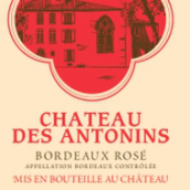 安东尼桃红葡萄酒(Chateau des Antonins Rose,Bordeaux,France)