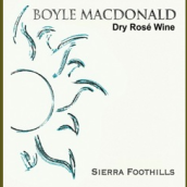 博伊尔酒庄桃红葡萄酒(Boyle MacDonald Dry Rose,Sierra Foothills,USA)