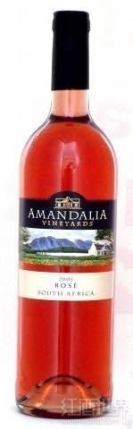 罗伊博格阿曼达园桃红葡萄酒(Rooiberg Winery Amandalia Vineyards Rose,Robertson,South ...)