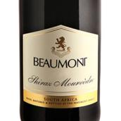 鲍蒙特西拉-慕合怀特混酿干红葡萄酒(Beaumont Shiraz-Mourvedre,Walker Bay,South Africa)