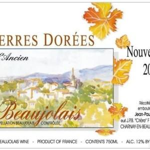 宝博多丽园博若莱新酒(Jean-Paul Brun Domaine des Terres Dorees Beaujolais Nouveau ...)